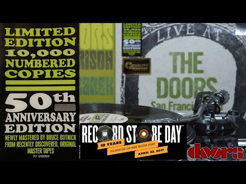 The Doors full live San Francisco 1967 Record Store Day 2017 Exclusive vinyl