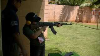 M4とAK47の反動(リコイル)て、こんなに違うんだ!5.56mm弾と7.62mm弾 実銃(実弾)比較動画