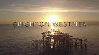 Brighton West Pier by Drone *skyscapeimagery.com*