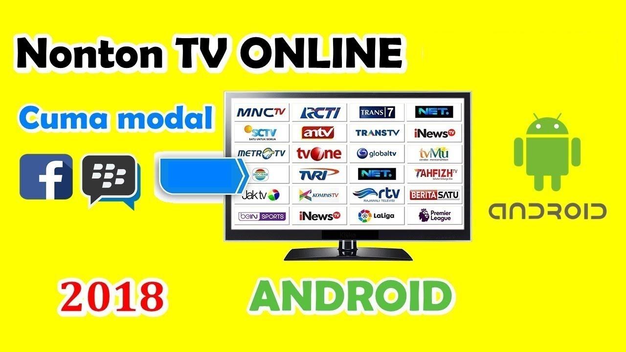 Cara Nonton Tv Online Di Android Hanya Modal Facebook