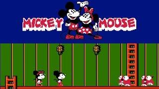 Mickey Mouse – Fushigi no Kuni no Daibōken (FC) | Playthrough