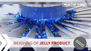 MULTIPOND weighing technology | High-Speed Weighing of Jelly product | Multihead Weigher