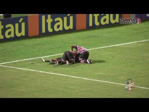TV Coral - Santa Cruz 1x0 Figueirense - Série A 2016