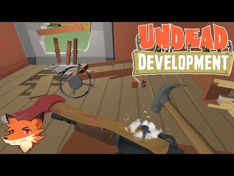 UNDEAD DEVELOPEMENT [FR] On fortifie sa base pour survivre aux zombies... en VR !