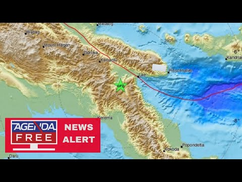 7.2 Earthquake Hits Papua New Guinea - LIVE COVERAGE