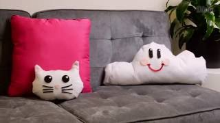 Super Easy DIY Cloud Pillow