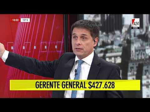 Del Gerente Al Chofer, Cuáles Son Los Sueldos Que El Estado Paga En El Banco Central