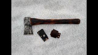 ПОХОДНЫЙ ТОПОР СВОИМИ РУКАМИ из старого советского топора | Do-it-yourself camping axe