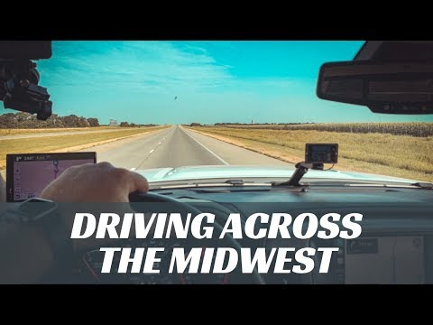 Travel Vlog// 2 day drive to Nebraska // Exploring Omaha