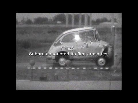 SUBARU WOW! 08: History of Crash Testing