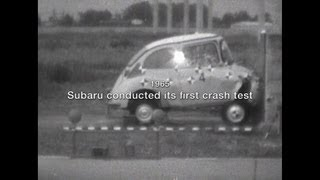 SUBARU WOW! 08: History of Crash Testing