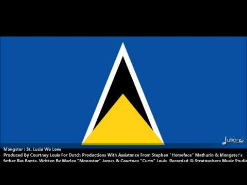 "Mongstar - St Lucia We Love ""2012 Soca"" (Iyanola Riddim)"