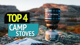 TOP 4: Camp Stoves