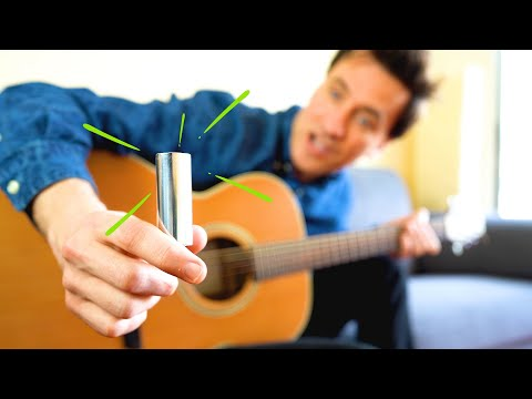 HOW TO PLAY SLIDE GUITAR!!