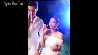 Hậu trường siêu đáng yêu của cặp đôi phim Nàng dâu nhập khẩu|Nghien Phim Thai
