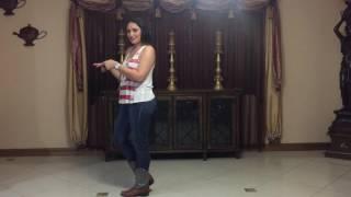 Cowboy Up Line Dance Demo and Teach