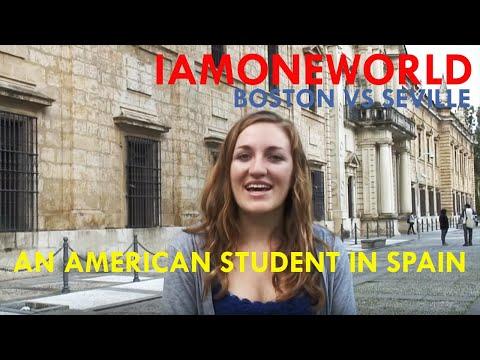 Boston vs Seville - an American student in Spain