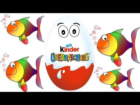 KINDER SURPRISE EGGS!! Let's Crack 'Em Open! By Kidder Toys Videos