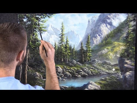 Rocky Lake - Paint with Kevin ®