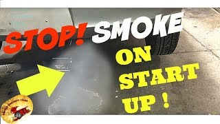 How To STOP Your Car From Smoking at START UP