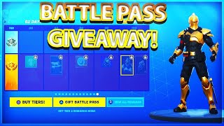 "Fortnite [PS4] | Season X BP Gift Giveaway @3k Subs! | Sub 4 BP | USE CODE ""ItsTempted"" IN SHOP!"