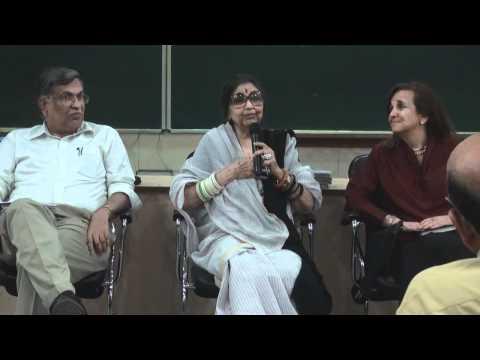 Tara Gandhi Bhattacharjee at IIT Gandhinagar