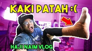 Download Video KAKI AKU PATAH :( Haji Naim Vlog! MP3 3GP MP4