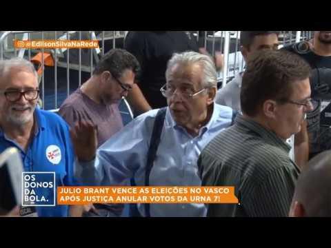 Julio Brant vence as eleições no Vasco após justiça anular votos da urna 7