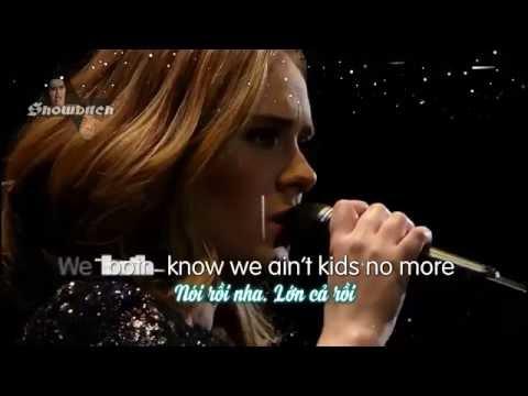 [Vietsub] Send My Love - Adele (live)