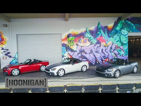 [HOONIGAN] DT 045: Mod Party! Fiat 124 Spider Abarth