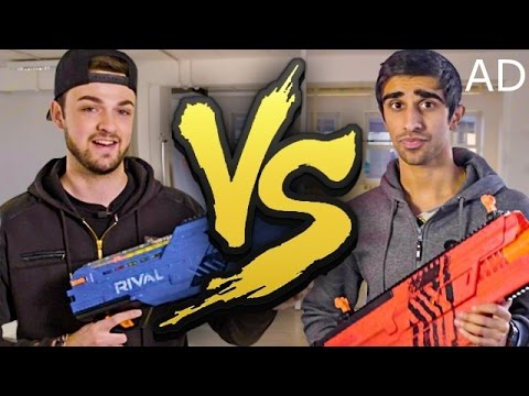 Thumbnail: VIKKSTAR vs ALI-A - NERF RIVAL BATTLE