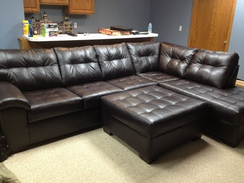 Sectional Couches Big Lots - YouTube