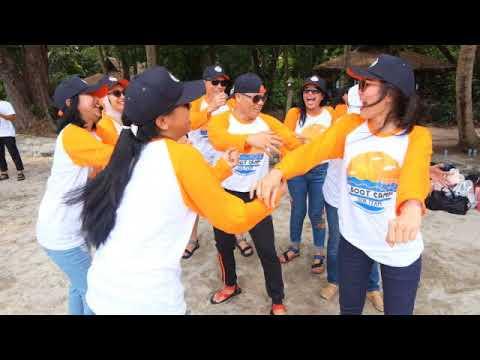 Boot Camp Sales on Board Team Garuda Indonesia Flight Attendants