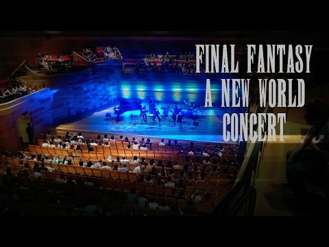 Final Fantasy A New World Concert 2016 (FF13,10 and 7 only)