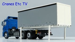 NZG Mercedes-Benz Antos 6x2 Swapbody by Cranes Etc TV