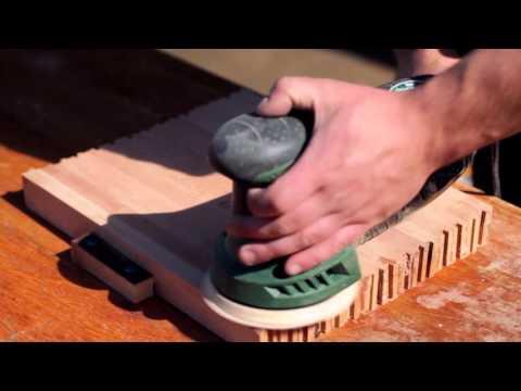 Jednostavna daska za rezanje od parketa