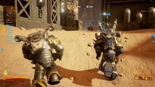 Warhammer 40000   Eternal Crusade Chaos Heavy Bolter gameplay
