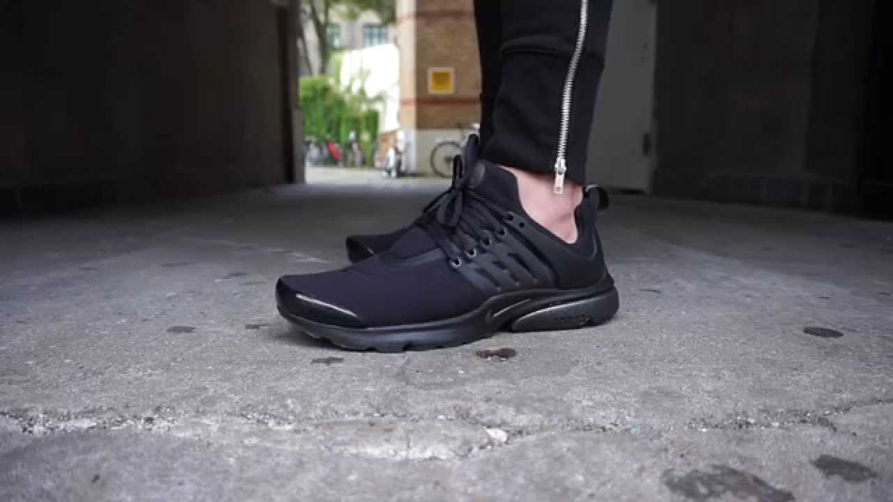 d9f0a95b58af0 Nike Air Presto Tech Fleece Pack Black