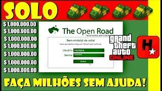GTA V Online Dinheiro Infinito Sem Ajuda! Faça Milhões!* SUPER EASY!* (GTA V SOLO Unlimited Money )