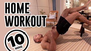 10 Minute Home Workout | No Equipment Needed