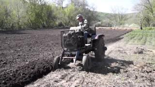 видео трактор самоделка