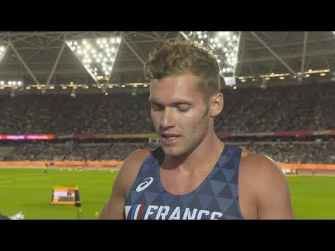 WCH 2017 London – Kevin Mayer FRA Decathlon 400 Metres Heat 1