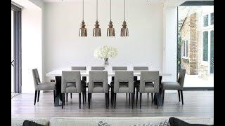 Contemporary Dining Room Ideas 2018 | Table Sets Plan Design DIY Decor Tour