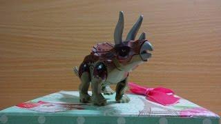 Đồ chơi trẻ em - Lắp ráp khủng long có sừng rất đẹp  Children's toys - Assembled dinosaur horned
