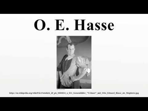 O. E. Hasse