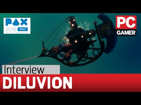 Diluvion interview - open ocean sub exploration and FTL crew management