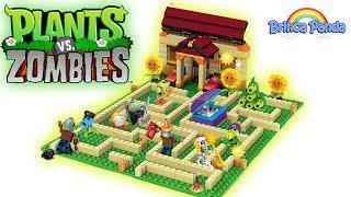 Lego Plants vs Zombies PVZ Playset Unboxing