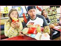 WE SPENT 24 HRS SURVIVING ONLY ON FAST FOOD!!