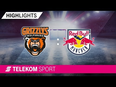 Grizzlys Wolfsburg - EHC Red Bull München | 34. Spieltag, 18/19 | Telekom Sport