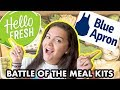 Hello Fresh vs Blue Apron Meal Kit Review *NOT SPONSORED*